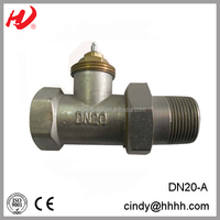 DN20 STRAIGHT THERMOSTATIC VALVES