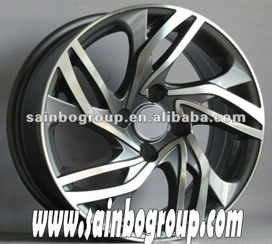 "Replica aluminium wheel of 17"" 18"" 19"" 20"" F60607"