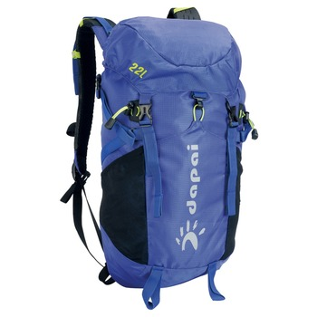 China Camping Travel Camera Bag Outdoor Blue Hiking Backpack