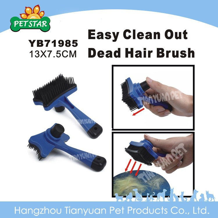 Easy Clean Out Dead Hair Pet Dog Grooming