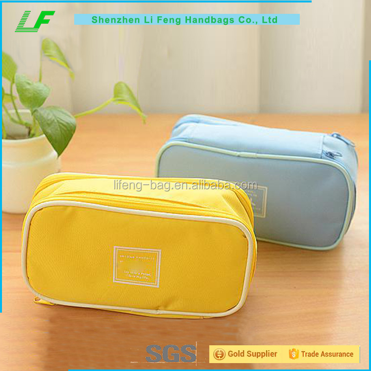 China wholesale custom polyester makeup bag case