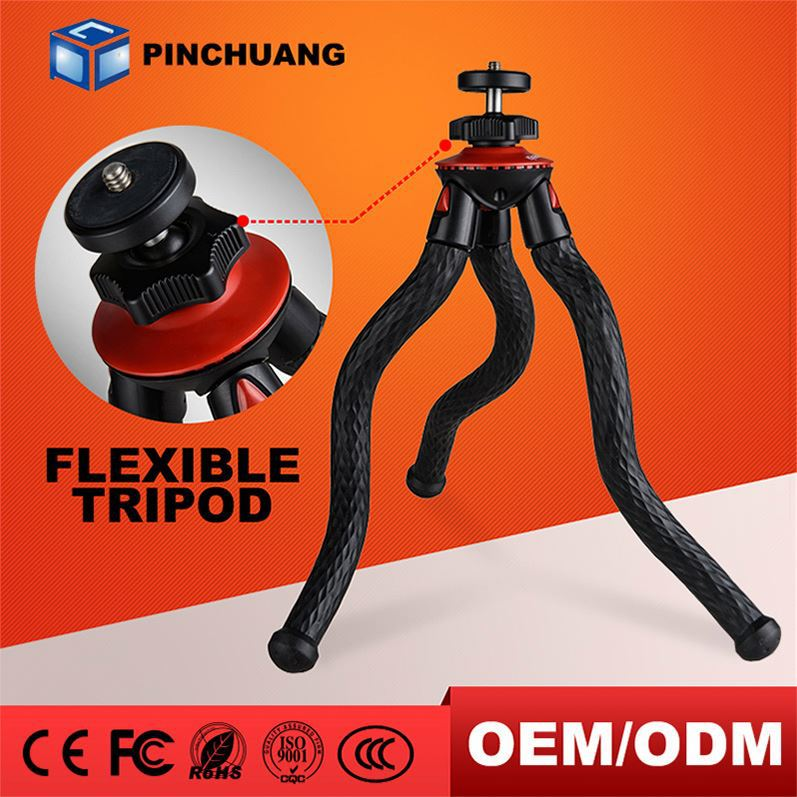 oem factory price flexible camera tripod octopus gorillapod