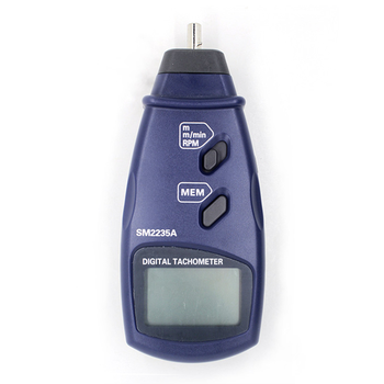 Portable Contact Tachometer which test Surface Speed High RPM Meter Speed BJ-2235A
