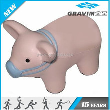 PU foam pig shaped pu stress ball