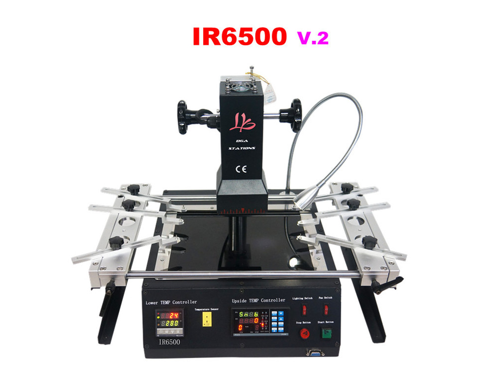 Shipping from UK include tax! Hot air low cost bga machine LY IR6000V.3 bga rework station ,motherboard repair machine