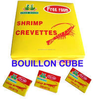 crevette shrimp soup spice cubes with delicious taste