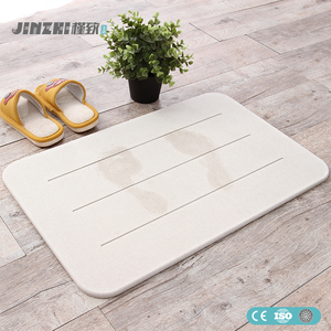 Natural diatomite bath mat bathroom safety mat bath and shower mat