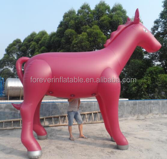 Factory outlet cheaper inflatable seal horse,advertising horse