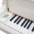 Shanghai Artmann 88 keys GP152 acoustic white baby grand piano