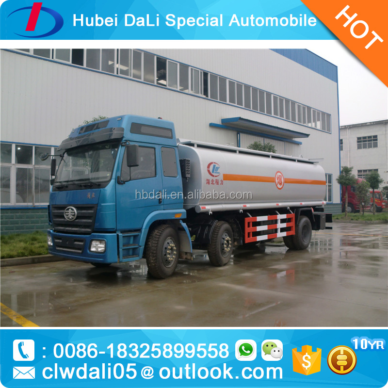 DONGFENG HOWO SINOTRUK FAW Fuel Truck with Pump Refueling truck 16-18T used oil tankers for sale