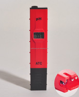 High Accuracy Pocket Size Handheld pH Meter Pen Tester, with ATC Function, Battery included