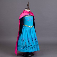 Formal cosplay costume cute fancy summer Elsa party dress in frozen BXZZPF