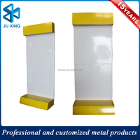 custom floor standing cell phone accessory display rack, metal hanging accessories display stand for sales promotion
