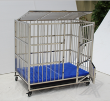 Galvanized steel black dog kennels