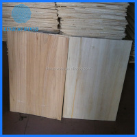 China paulownia wood breaking boards factory