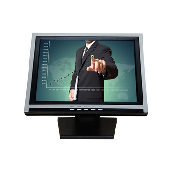 professional 15 inch pos lcd touch screen monitor with wall mount