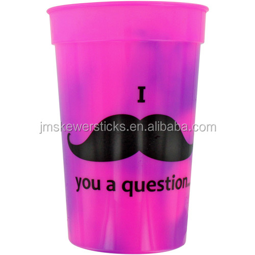 Color Changing Plastic cup mood stadium cups for promo