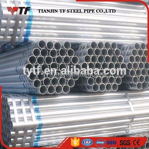New premium New product 101.6mm bs1387 galvanized steel tube