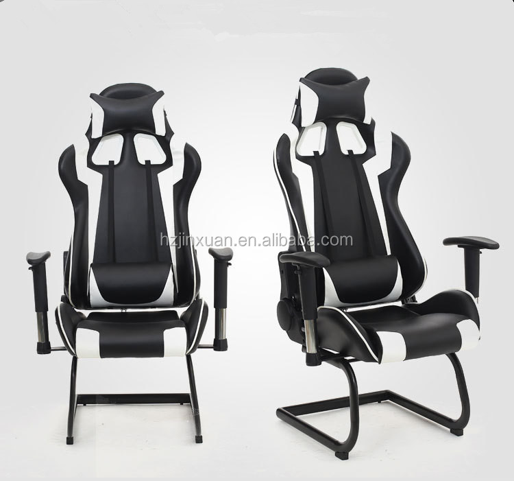 Hot sale cheap No wheel stackable office furniture gaming chair fabric frame computer chair Conference Hall Chair Chromed