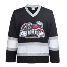 100% Polyester Embroidery Los Angeles Kings Ice Hockey Jersey