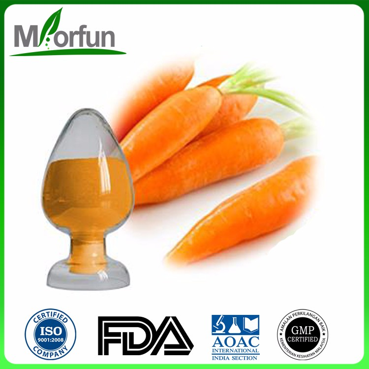Good price of natural carrot extract beta carotene red-orange pigment beta- carotene for Weight Loss