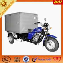 Big Power Closed Box Cargo Three wheel Motorcycle,200cc Engine Tricycle With closed Cargo Box,Motorized Cargo Tricycle With Box