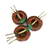 power inductor/ electronic toroidal choke coil with base