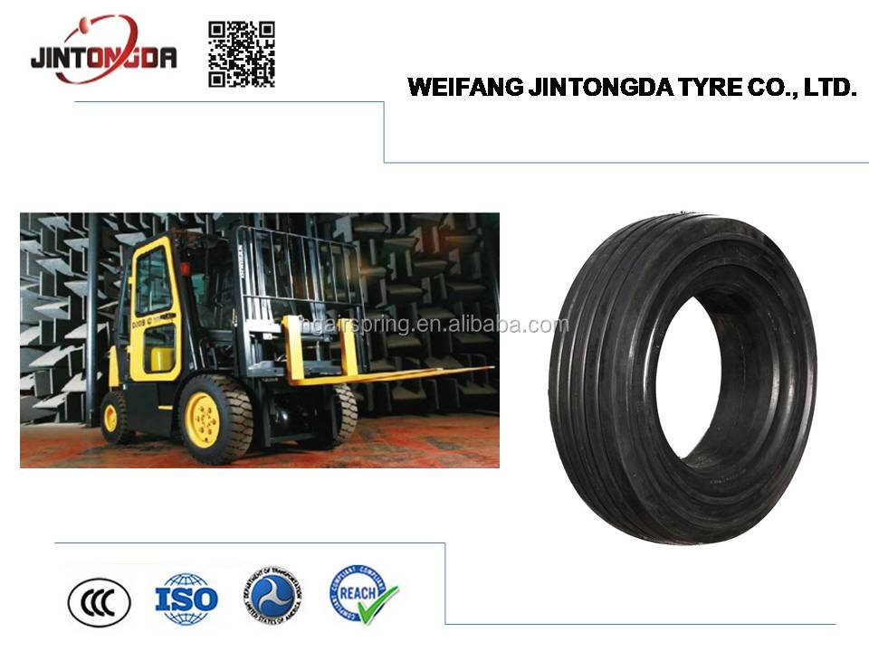 soild tire 6.00-9 click type
