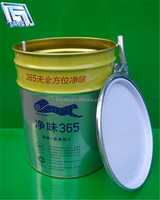 20L good sealing empty drum with lid for latex paint