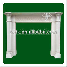 Marble home goods fireplaces