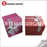 black foldable gift box 2012 new design christmas gift box ornament