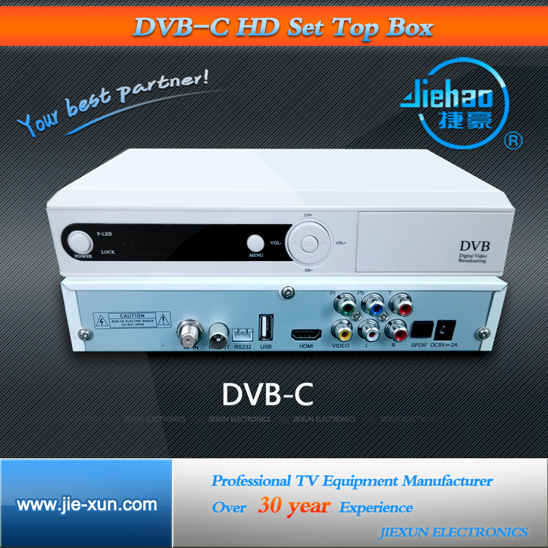 Digital Cable TV DVB-C Descrambler Boxes