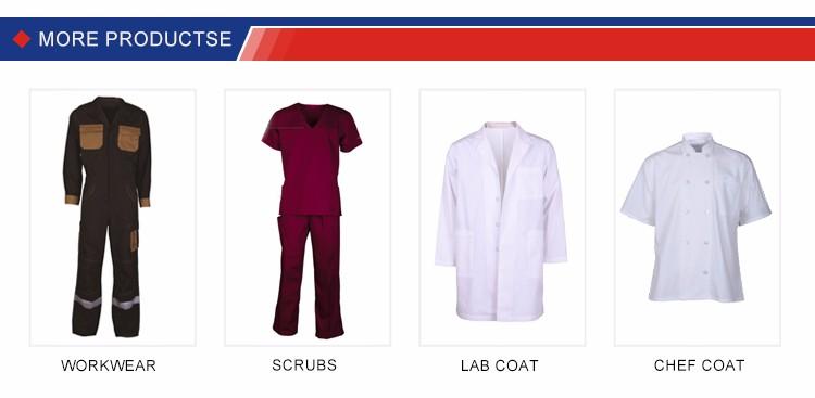 China fornecedor teflon amplamente utilizado tecido 100% algodão para vestuário de trabalho