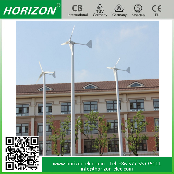 5000w wind generator for sale 120/220/240V Horzontal axis, speed 11M/S 5kw low rpm wind turbine alternator