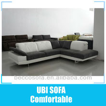 Modern furniture corner sofa with iphone player