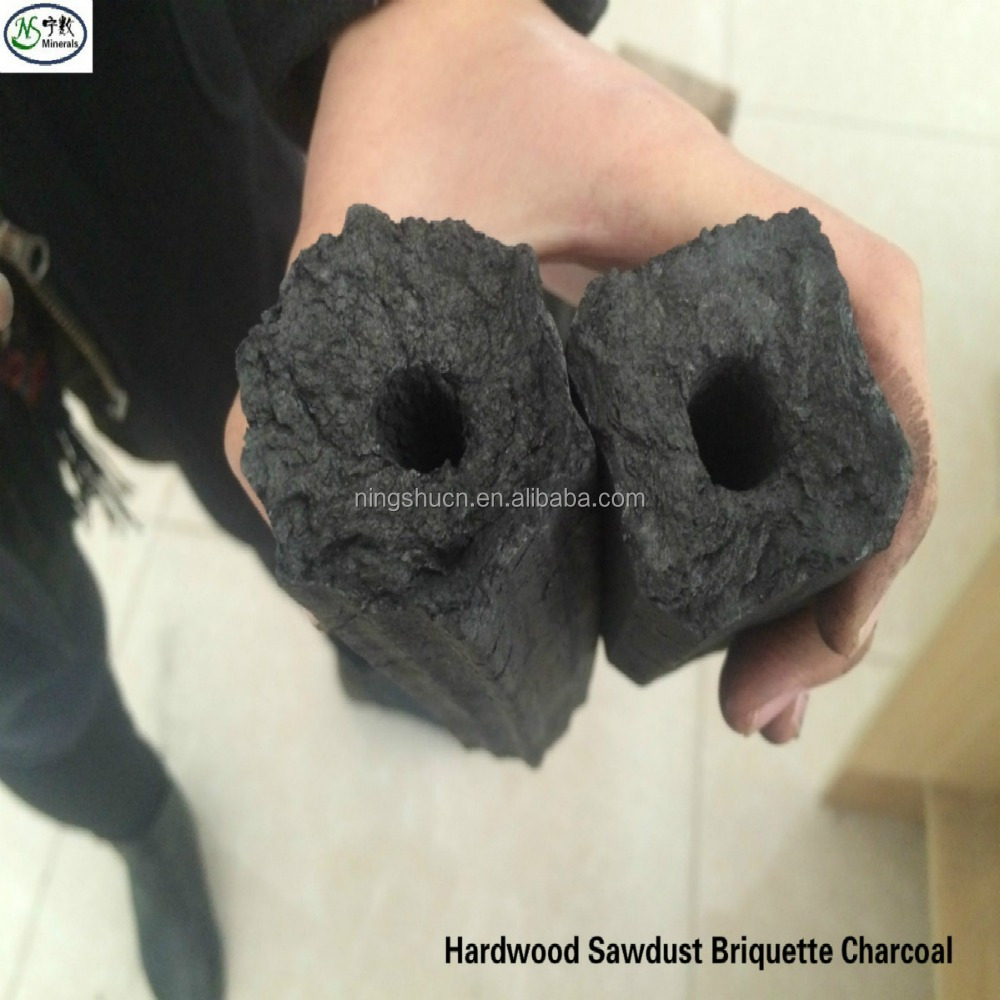 Factory director manufacturer Sawdust hardwood charcoal briquette price