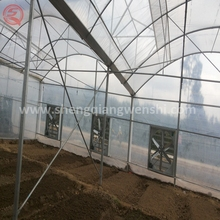 Multi-span agricultural PE film greenhouse shading system