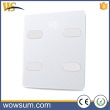 Best Selling Quality bathroom weight sensor digital scale with Bluetooth 4.0