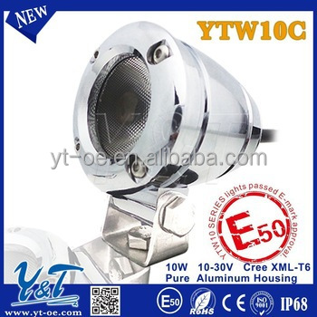 Bargain 10w YTW10 chrome house autobike led direction light mini e-bike led work light CE certificated scooter led back light