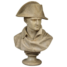 Hand Carved bust of napoleon with low price