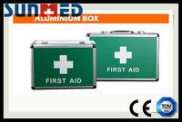 Aluminium first aid case