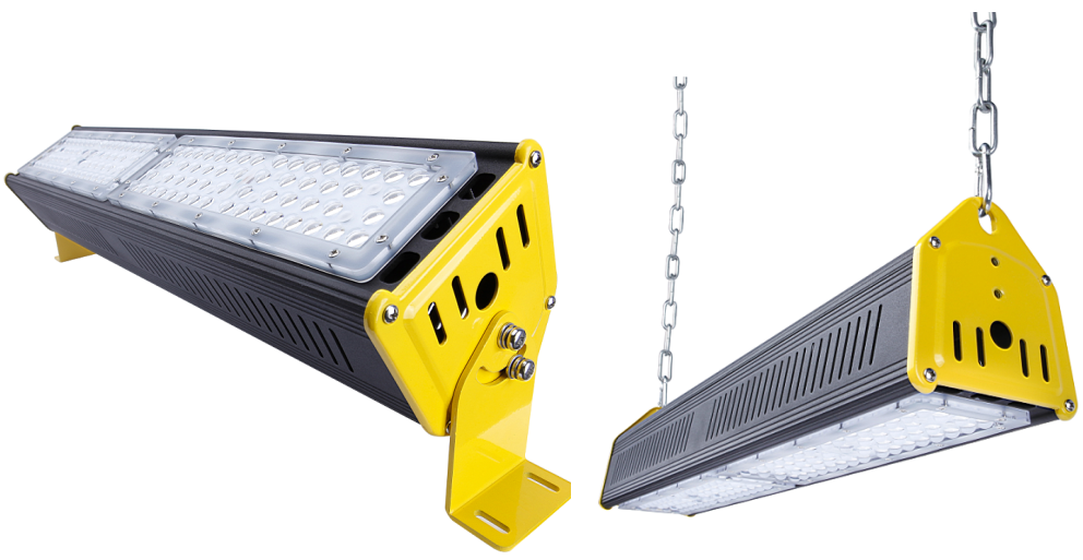 Factory Best Sale IP65 led shop Lighting Industrial Aluminum 100W Linear LED High Bay Light