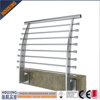 children safety stainless steel banisters with ss cross bars