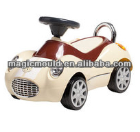 2014 high quality new design children used movable plastic toy car mould