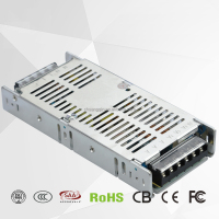 250W power 110V or 220V AC input DC switching power supply 12V slim led driver
