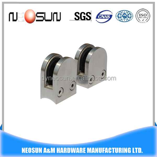 Stainless Steel Round Curtain Wall Glass Clamp