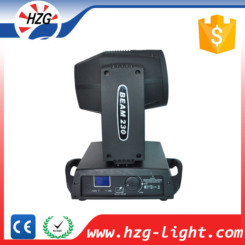 wireless Dmx 512 Beam moving head stage 230w sharpy 7r beam moving head light dj lighitng