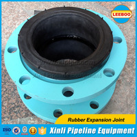 EPDM rubber expansion joint single sphere with flange