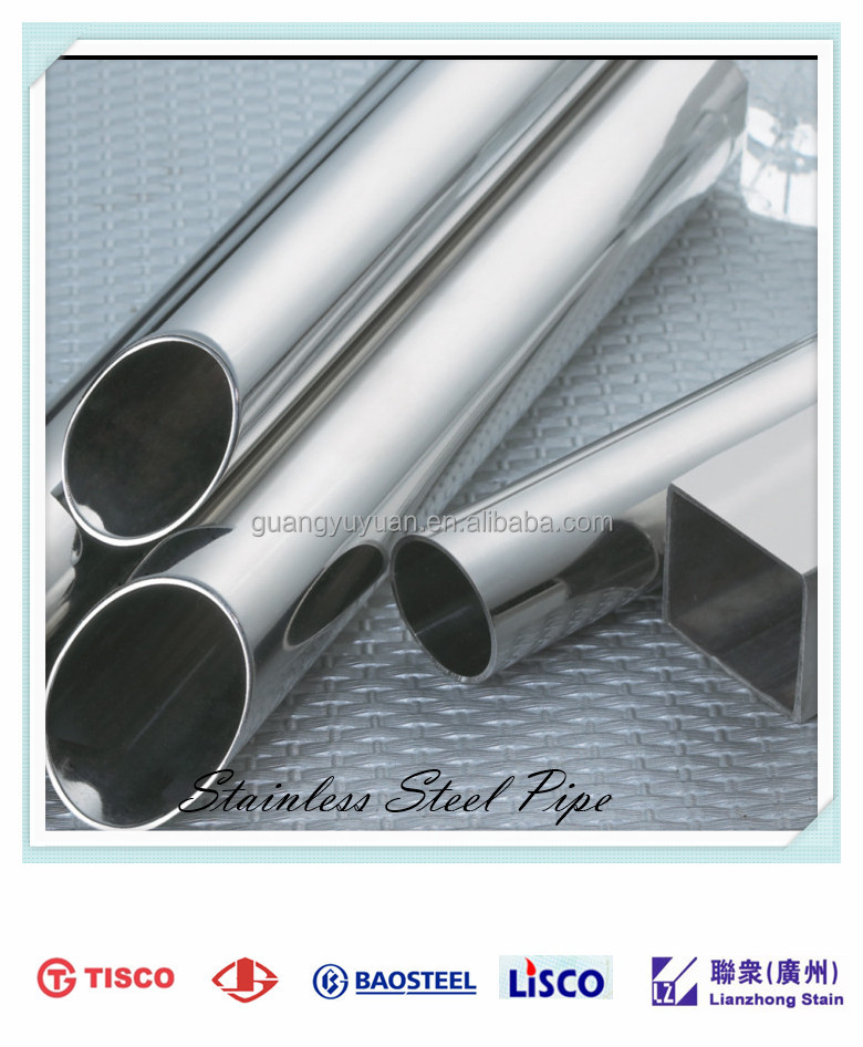 competitive price stainless steel round pipe /tube