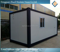 Modular prefab home kit price,low cost luxury living container villa